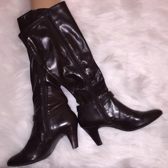 Henson Zapatos Heeled Sassy Ladies Marrón Zapatos Heeled Zapatos Marrón Botas cf559c